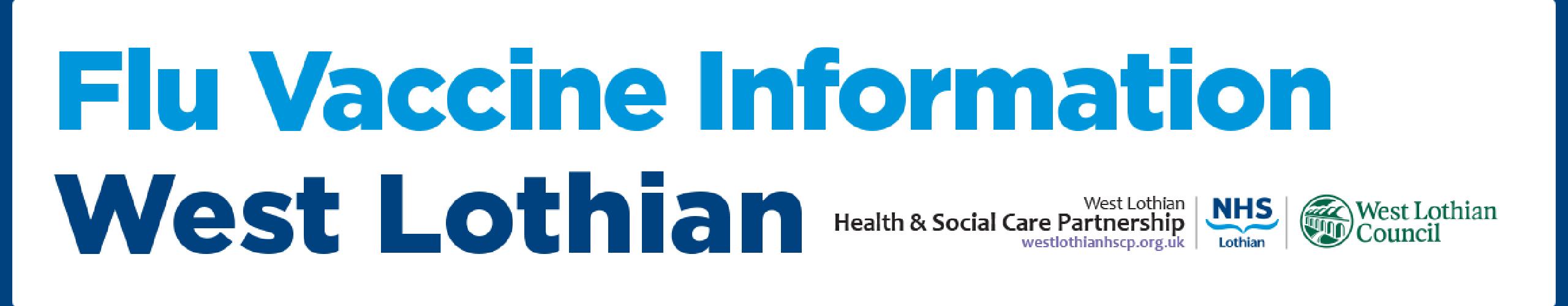 Flu Vaccine Information West Lothian